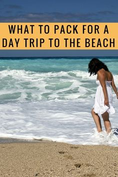 What to pack for a day trip to the beach. I included on this list all the essential items that must be included on a beach packing list for a short trip. You can copy the items and use the list - or add more items and create your own packing list for the beach.: