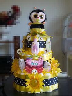 My first pamper cake!!