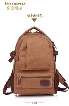 Мур Карден новых людей холщовый мешок рюкзак школьный досуг моды мешок человек - Taobao