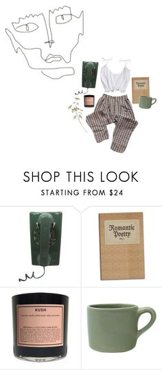 """""""absentmindedness"""" by vhleal ❤ liked on Polyvore featuring WALL, Boy Smells and canvas"""