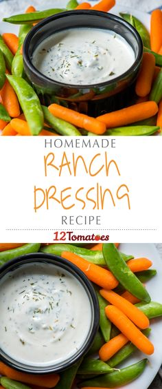 Homemade Ranch Dressing Mix | It only takes a few simple ingredients to whip up, and is awesome to have on hand to add extra flavor to meatloaves, casseroles, and countless other dishes.