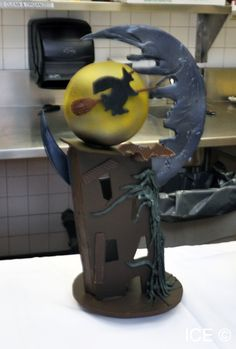 A Halloween chocolate showpiece from an ICE student.