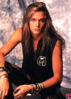 Sebastian Bach,,,,,and still looks great...
