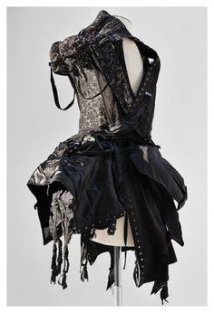 Undercover: Pile-on vintage lingerie evening jacket. Photo by René Habermacher.