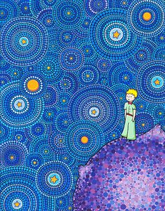 """The Cosmic Little Prince"" by Elspeth McLean 