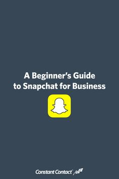 While Snapchat has been around since 2011, it has only started to catch the imagination of brands within the last couple years. And most small businesses and organizations are only just beginning to explore how to tap into this fast-growing social network. In this post, we'll provide a quick overview of what Snapchat is, how to set up your account, and some quick ideas to help you get started.
