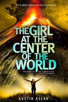 Cover Reveal: The Girl at the Center of the World (Islands at the End of the World) by Austin Aslan  -On sale 2015 -Three months have passed since the Emerald Orchid mysteriously arrived in orbit above the Earth, destroying electronics globally and thrusting the world into a Dark Age. Residents of the forgotten Hawaiian Islands struggle for survival.