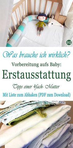 Erste Ausstattung Baby