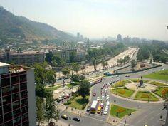 Plaza Italia Chile #sinbadtrips