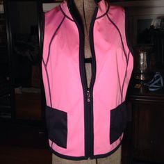 Pink/Navy Reversible Vest Very nice vest in great condition. Liz Claiborne Jackets & Coats Vests