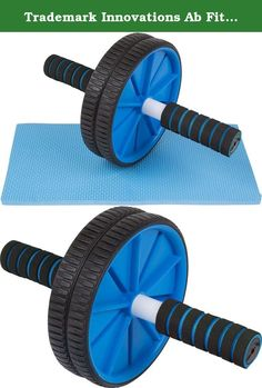 Trademark Innovations Ab Fitness Roller Wheel, Blue. This ab wheel provides an easy and innovative way to work your upper body from your arms to your core. Use in the comfort of your home or take it with you to the gym. Either way you will see the benefits with regular use. Designed for all fitness levels. Be sure to start slowly and work your way up to a full extension. By Trademark Innovations. Strengthen abs, shoulders, arms and back and core 2 non-skid wheels provide added stability…