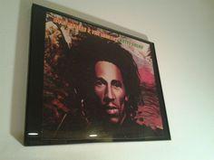 """I cut and framed an original album cover of reggae album, Bob Marley's """"Natty Dread."""""""