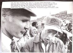 Tom Landry,Chuck Knox after 1975 Cowboys 37-7 win.The LA Rams were in 3 straight NFC title games in 1974,75,76 and lost them all