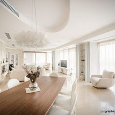 House F   Slamp Project Department Zaha Hadid, Dining Table, Projects, House, Furniture, Home Decor, Log Projects, Blue Prints, Decoration Home