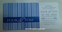 การ์ดแต่งงาน C 103 Blessing Card กระดาษซาติเนส - ของชำร่วย การ์ด แต่งงาน @จตุจักร 2 : Inspired by LnwShop.com