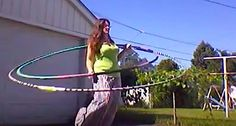 Giant Hula Hoops with Tanya