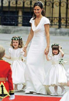 Royal Wedding - Pippa's bridesmaid dress