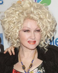 Cyndi Lauper and her Bronx accent.