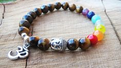 Check out this item in my Etsy shop https://www.etsy.com/uk/listing/247684158/7-chakras-bracelet-balancing-gemstones