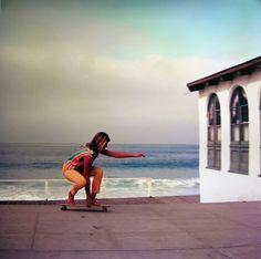 Leroy Grannis skateboarding photo