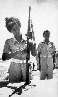 Somali lady in uniform February 28th, 1978.