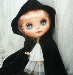 Blythe Cape | Doll Apparel | Blythe Clothes | Doll Dress - 203040anyage - 1