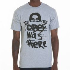 Obey Clothing Obey Was Here T-Shirt