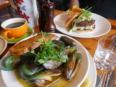 Must have the New Zealand Green Lipped Mussels at Ivy & Lola's in Queenstown, New Zealand