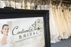 welcome to Couture & Tiaras bridal shop in Sussex