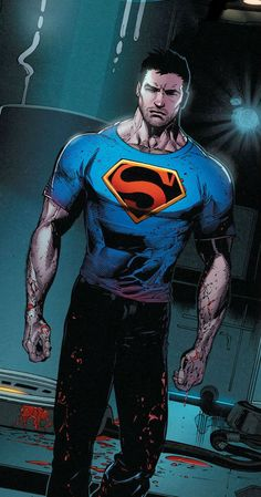 Superman by Doug Mahnke Superman News, Supergirl Superman, Superman Man Of Steel, Superman Comic, Superman Superman, Dc Comics Characters, Dc Comics Art, Marvel Dc Comics, Dc Comic Books
