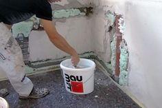 gestrichene Wand, Lehmfarbe | Tapete | Pinterest | Schleifen, Wand ...