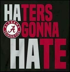 Alabama Football..got them everywhere!!! :)