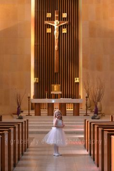 First Communion gracefully elegant photography