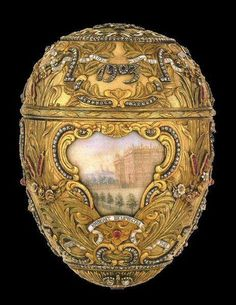 Couture Egg Faberge