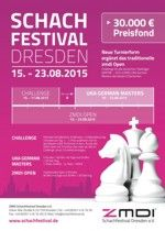 Dresdner Schachsommer Chess Players, Posters, Advertising, Chess, Banners, Billboard, Poster