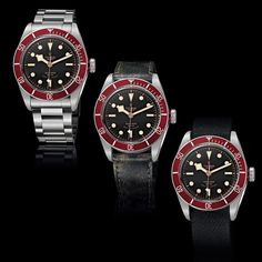 TUDOR Heritage Black Bay REFERENCES TO THE BRAND'S AESTHETIC HERITAGE (See more at En/Fr/Es: http://watchmobile7.com/articles/tudor-heritage-black-bay) #watches #montres #relojes #tudor