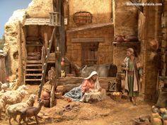 belenistas de la Isla. Fotos Nativity Stable, Winter Painting, Christmas Nativity, Religious Art, Ancient History, Medieval, Christmas Decorations, Bethlehem, Portal