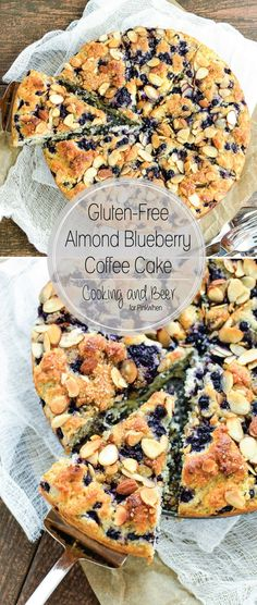Gluten Free Almond Blueberry Coffee Cake - the perfect coffee cake for Mother's Day, Sunday brunch, or just your average Wednesday!