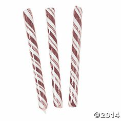 Burgundy Candy Sticks - NOW $7.98 80 Piece(s)