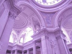 Beauxbatons // French School of Witchcraft and Wizardry Violet Aesthetic, Lavender Aesthetic, Rainbow Aesthetic, Aesthetic Colors, White Aesthetic, Aesthetic Pictures, Violet Pastel, Pastel Purple, Light Purple
