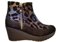 Pedro anton leopard boot 25804 brown via ollyander.com. Click on the image to see more!