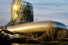 park La Cité du Vin — in English, City of Wine -  XTU Architects