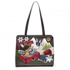 Cartoline Winter Tour Handbag - Braccialini