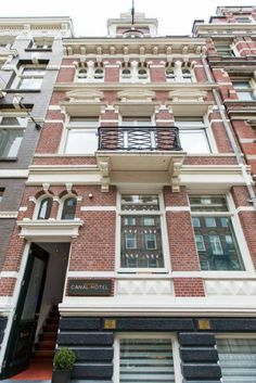 The Amsterdam Canal Hotel - Amsterdam, The Netherlands - 16 Rooms - Hästens Beds