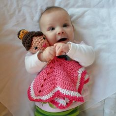 Ravelry: Princess Lovey pattern by A la Sascha.