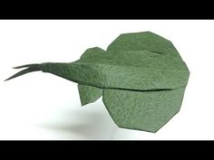 How to make Origami Sting Ray - PaperPh2 - YouTube