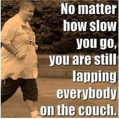 Losing Weight: No matter how slow you go