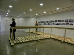 Installation, Exposition : images du siècle de la reconversion portuaire, François Lewyllie