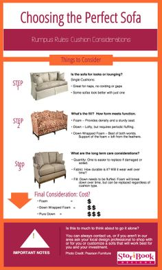 Finding your perfect mate: A designer's guide to shopping for a sofa.  Read more at: http://storibookdesigns.blogspot.com/2010/04/finding-your-perfect-mate-part-1-sofa.html