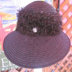 Womans Hat Buffalo Beach Hat With Buffalo Nickel by BuffaloDesigns, $15.00